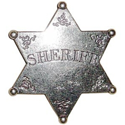 Sheriff Badge Replica