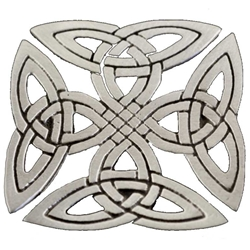 Celtic Square Knot Brooch 106.0656