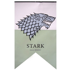 Game of Thrones Stark Sigil Banner
