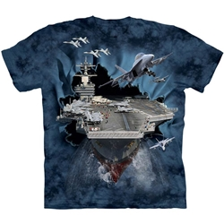 Aircraft Carrier Adult 2X-Large T-Shirt 43-1082630