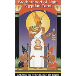 Brotherhood of Light Egyptian Tarot Deck 45-DBROLIG