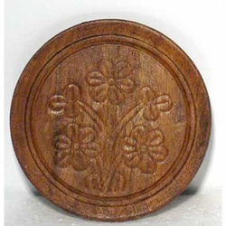 Carved Wooden Coaster 45-IBCOA