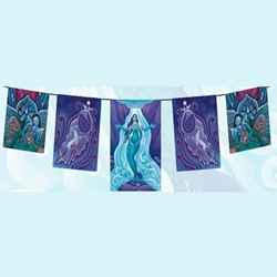 The Awakened Aphrodite Flags