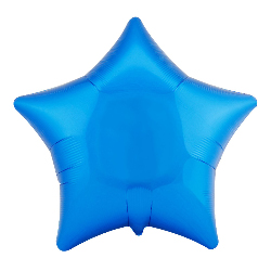 "Blue Star 18"" Foil Balloon 100-172150"