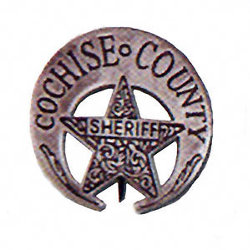 Cochise County Sheriff Western Badge