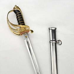 British 1845 Infantry Officer Sword